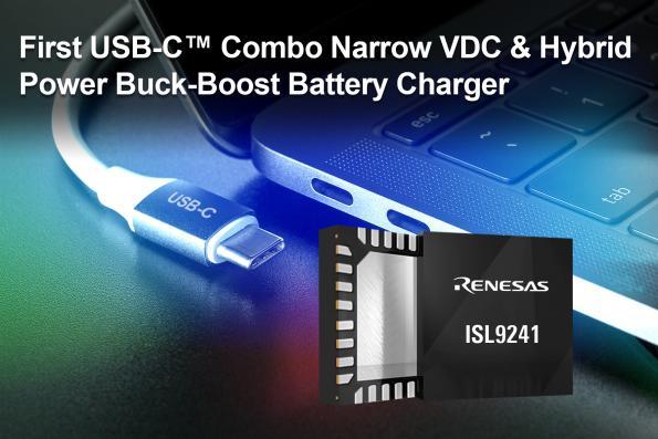 Chargeur de batterie Buck-Boost USB-C pour les systèmes informatiques portables