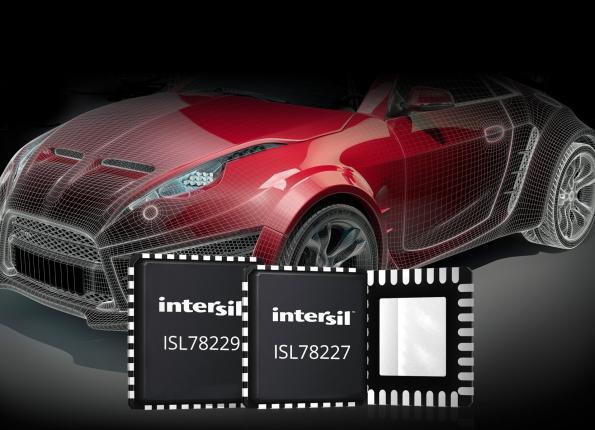 Contrôleurs boost multi-phases synchrones 55 V pour l'automobile