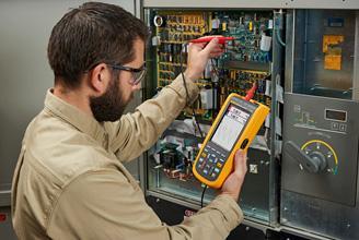 Oscilloscopes portables simplifiant les dépannages électromécaniques