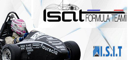 ISIT renouvelle son partenariat avec l'école ISAT, en support de son projet Formula1
