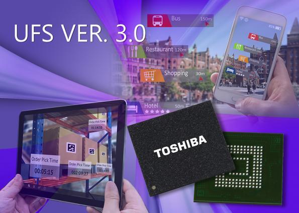 Les premières Flash embarquées UFS Version 3.0 du marché