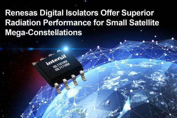 Isolateurs numériques pour les petits satellites
