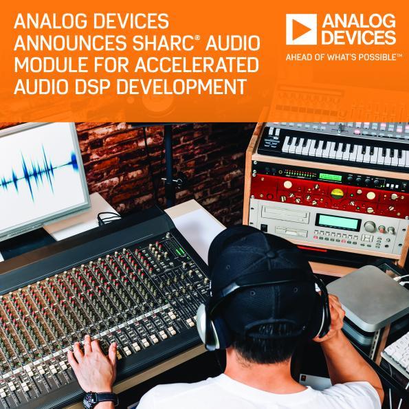 Analog Devices accélère le développement de projets audio pilotés