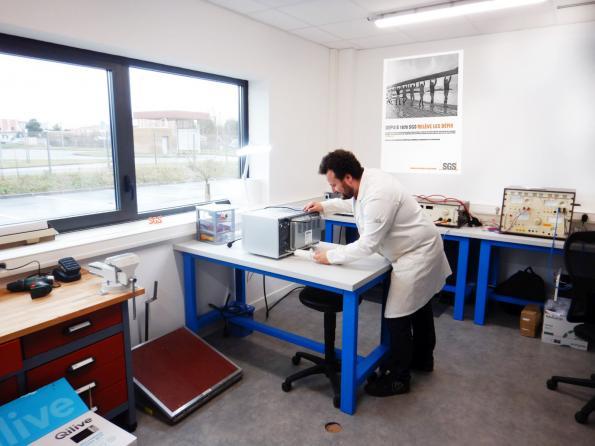 Un nouveau laboratoire dédié aux analyses et tests de produits électriques et électroniques