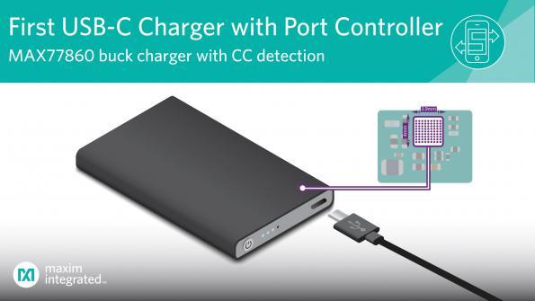 Chargeur dévolteur USB-C à haut niveau d'intégration