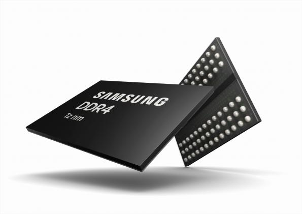 Première DRAM gravée en classe 10 nm de 3e génération