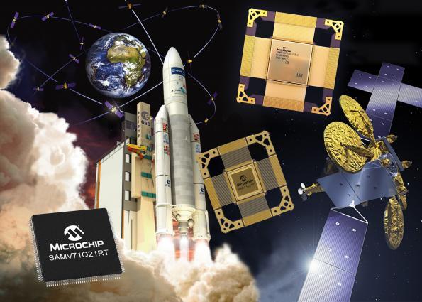 Microcontrôleurs ARM Core durcis aux radiations