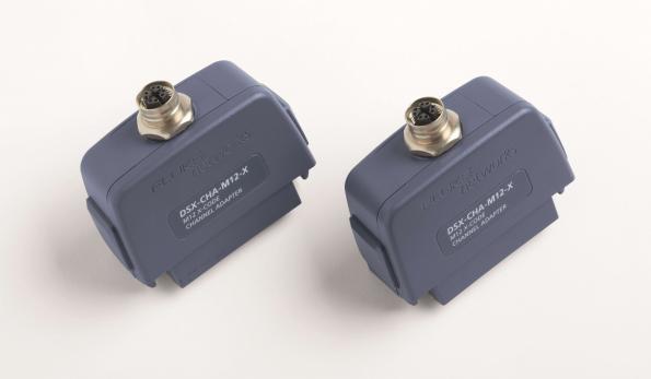 Fluke Networks lance l'adaptateur DSX CableAnalyzer pour le connecteur Ethernet industriel M12-X