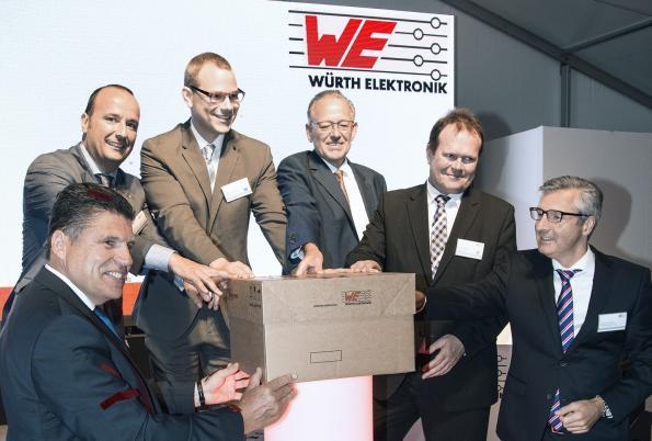 Würth Elektronik eiSos ouvre un centre logistique ultra moderne