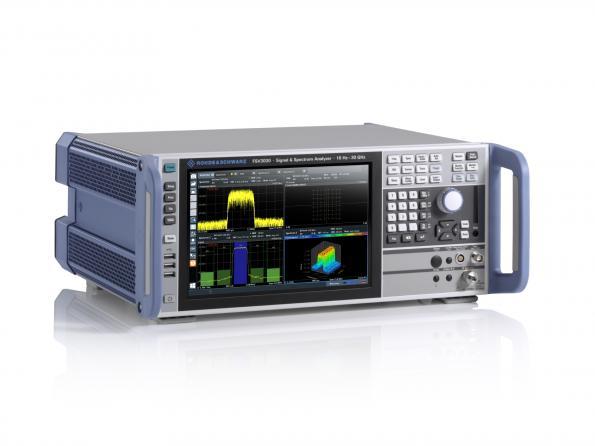 Analyseurs de spectre milieu de gamme Rohde & Schwarz
