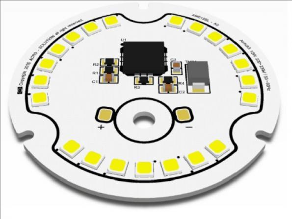 LEDs et modules LEDs à large gamme spectrale chez HTDS