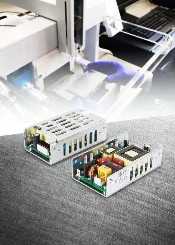 XP Power annonce un nouveau bloc d'alimentation compacte de 180W dans un profilé en U