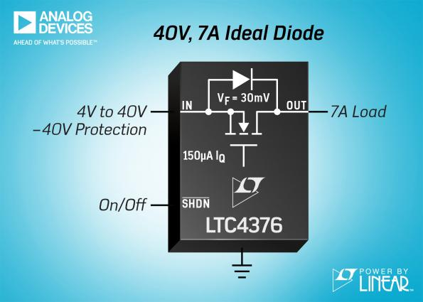 Une diode parfaite pour protéger les composants