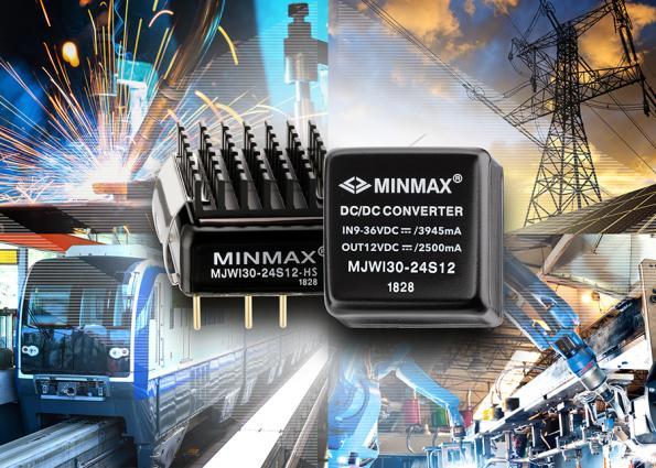 MINMAX lance son premier module convertisseur DC/DC 30 W en boîtier encapsulé
