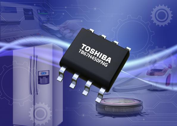 Toshiba lance un CI driver de moteur CC à balais en boîtier HSOP8