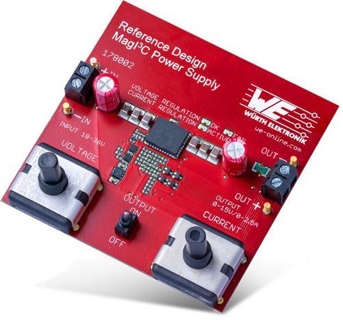 Reference design avec le module d'alimentation MagI³C disponible chez Würth Elektronik
