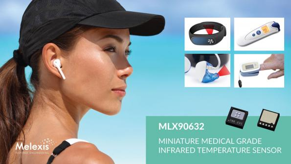 Melexis annonce le plus petit capteur FIR au monde pour des applications médicales