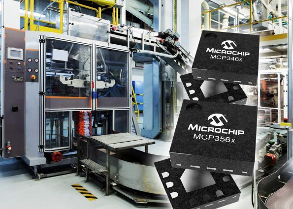 Des débits de données élevés associés à une haute précision pour les CAN de Microchip