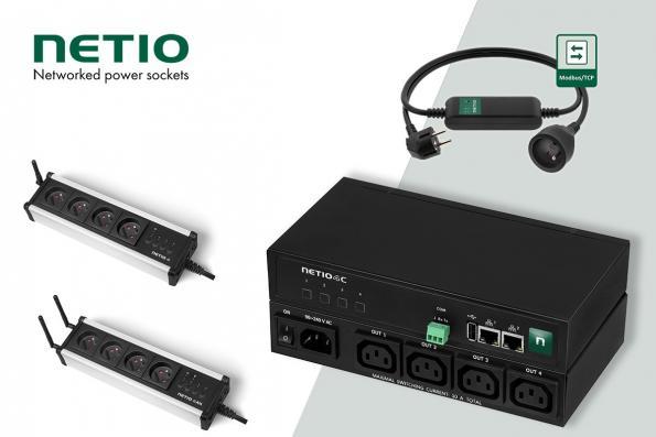 Nouvelle distribution pour ADM21 : NETIO spécialiste des prises de courant connectées