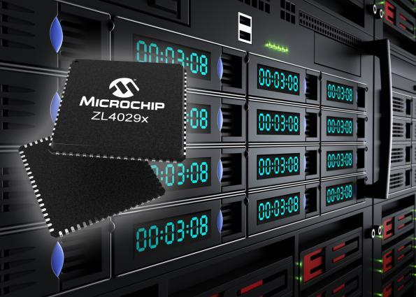 Microchip présente les premiers tampons d'horloge aux spécifications PCIe Gen 4 et Gen 5