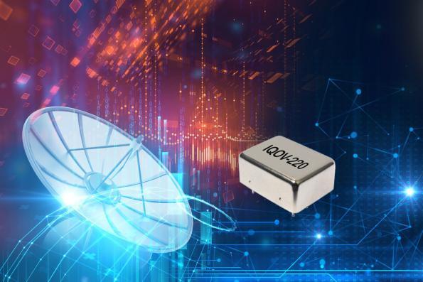 Oscillateur à quartz thermostatés ultra-stable et à faible bruit de phase