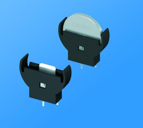 Support de pile bouton 20 mm à insertion verticale