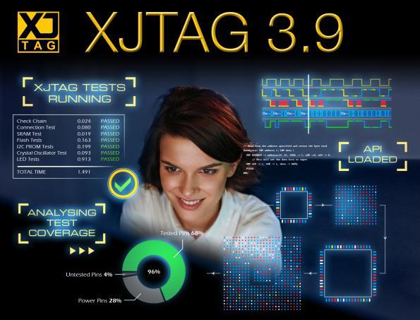 XJTAG étend la puissance du test Boundary Scan