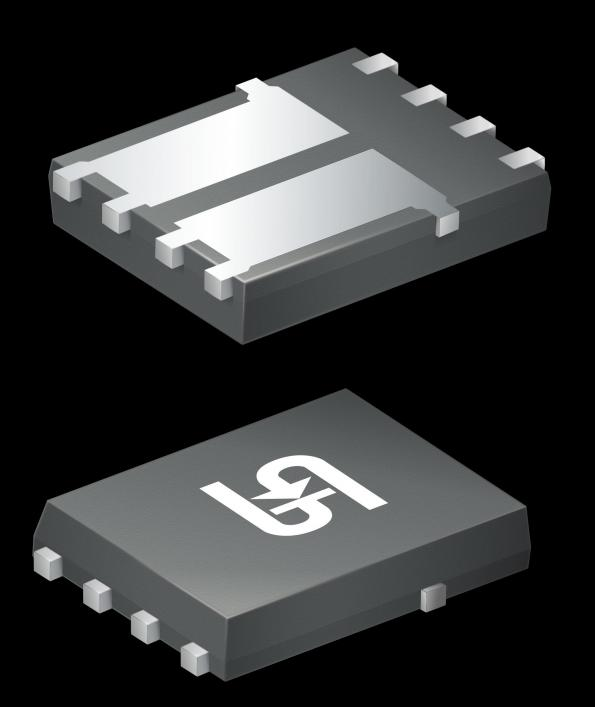 Transistors MOSFET de puissance double canal N de 40 et 60 V en boîtier double PDFN56
