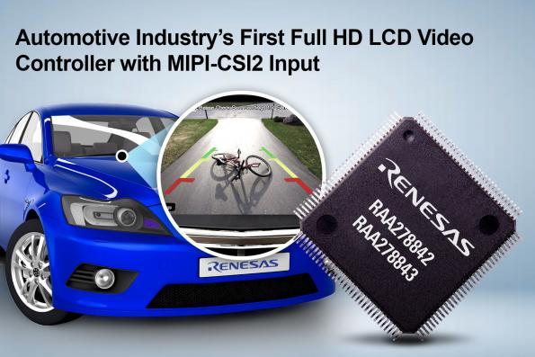 Contrôleur vidéo LCD Full HD pour l'industrie automobile