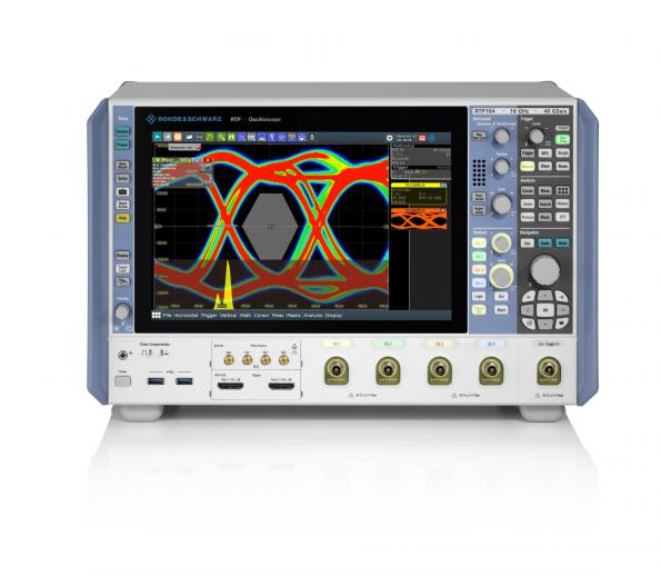 Rohde & Schwarz double la bande passante maximale de ses oscilloscopes hautes performances