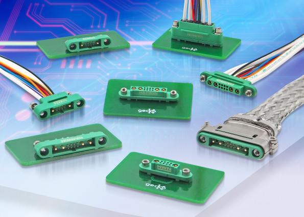 Connecteurs à configuration mixte compacts et légers