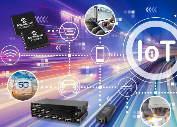 Microchip résout les problèmes d'interopérabilité pour fournir jusqu'à 90 W sur les câbles Power-over-Ethernet