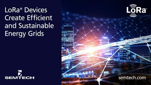 Les composants LoRa de Semtech créent une solution de surveillance efficace pour réduire la consommation énergétique