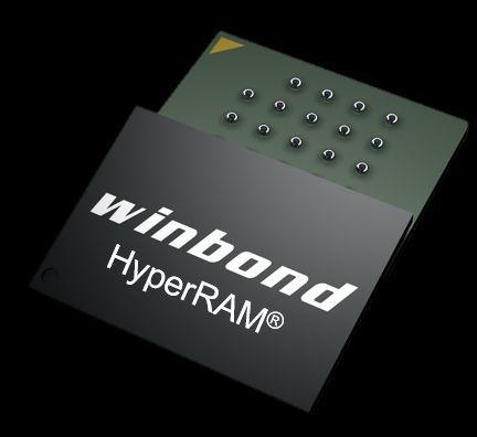 Winbond arrive sur le marché HyperRAM