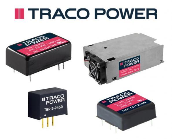 Farnell distribue les nouveaux produits d'alimentation Traco Power