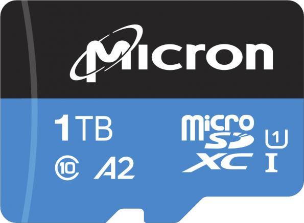 La première carte microSD industrielle de 1 To