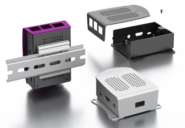 Boîtier pour ordinateur monocarte Raspberry Pi 3 et Pi 4