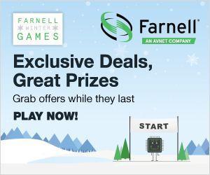 Concours des fêtes de fin d'année : Farnell lance ses « Winter Games »
