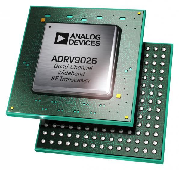 Le nouvel émetteur-récepteur RF large bande d'Analog Devices réduit le coût de développement des stations de base
