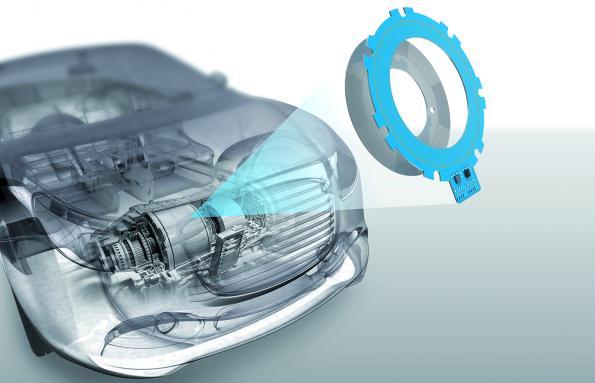Capteur de position inductif pour moteurs grande vitesse