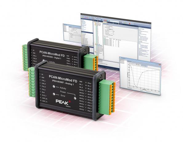 Modules CAN FD robustes avec E/S