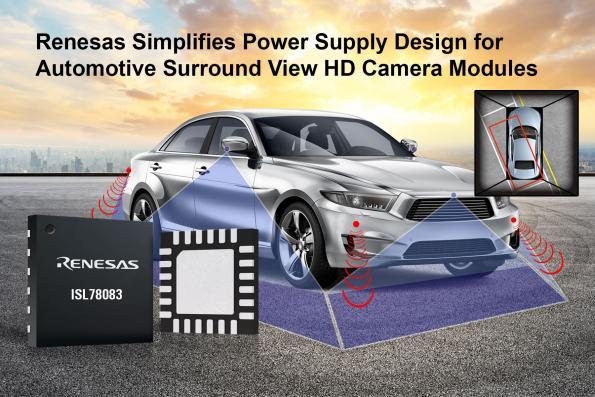 PMIC pour caméra automobile