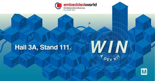 Des kits de développement à gagner à Embedded World 2020