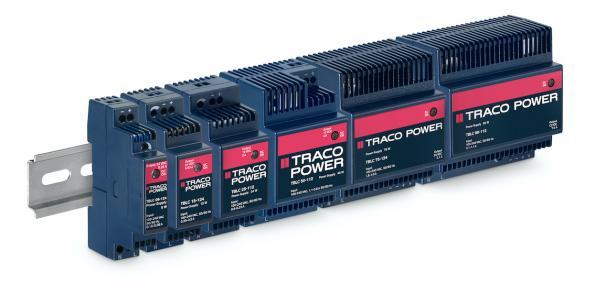 Conrad Electronic étend son offre avec les alimentations sur rail DIN de Traco Electronic