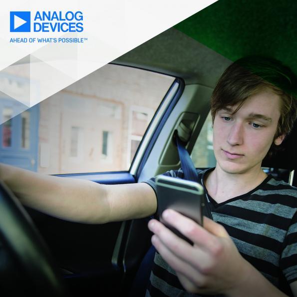 Analog Devices et Jungo annoncent leur coopération dans le domaine des technologies de surveillance de l'habitacle automobile