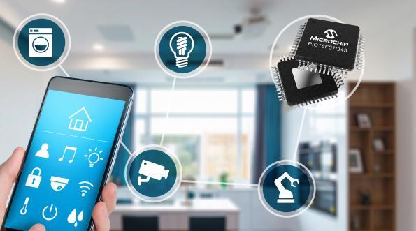 La nouvelle famille de microcontrôleurs PIC transfère les tâches logicielles vers la partie matérielle pour une réponse système plus rapide