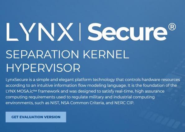 Lynx élargit l'éventail de systèmes d'exploitation et processeurs pris en charge par LynxSecure