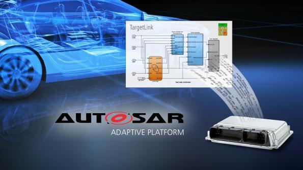 Le générateur de code série TargetLink supporte le standard Adaptive AUTOSAR