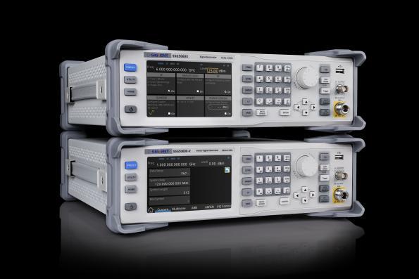 Générateurs de signaux RF allant de 9KHz à 4GHz ou 6 GHz