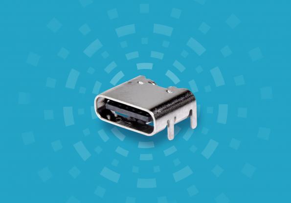 Connecteur à réceptacle USB Type C pour les applications d'alimentation